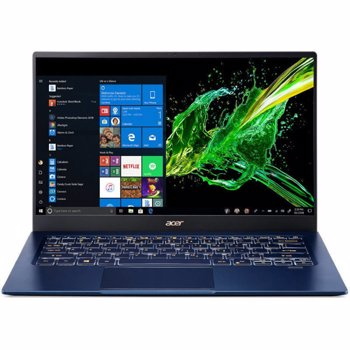 Laptop Acer Swift 5 SF514-54T 14 inch FHD Touch Intel Core i5-1035G1 8GB DDR4 512GB SSD Windows 10 Home Blue