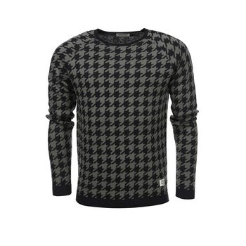 Pulover pepit Star de la Jack & Jones - negru & verde
