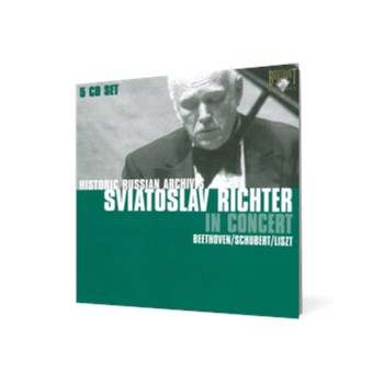 Historic Russian Archives - Sviatoslav Richter In Concert (5 CD Set)