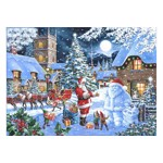 Puzzle The House of Puzzles - Christmas Collectors Edition No.14 - Seeing Double, 500 piese (The-House-of-Puzzles-4852)