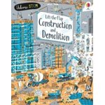 Lift-the-Flap Construction and Demolition, Board book