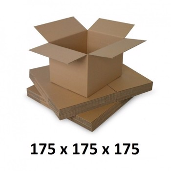 Cutie carton 175x175x175, natur, 5 straturi CO5, 690 g/mp