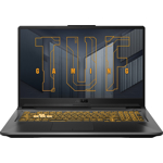 Laptop Gaming ASUS TUF Gaming A17 FA706QR AMD Ryzen 7 5800H 512GB SSD 16GB NVIDIA GeForce RTX 3070 8GB FullHD Endless T.il. Eclipse Gray fa706qr-hx004