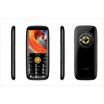 Telefon mobil Samgle Captain 3G, QVGA 2.4 inch, Bluetooth, Digi 3G, Camera, Slot Card, Radio FM, Internet, Dual SIM