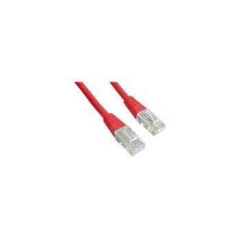 Gembird patchcord RJ45, cat.5e, FTP, 1m, red