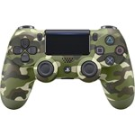 Controller Wireless Sony DualShock 4 v2 pentru PlayStation 4 (Green Cammo)
