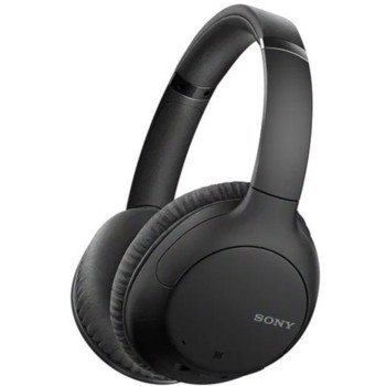 Casti Wireless Sony WH-CH710NB, Noise Canceling, Google Assistant, Bluetooth, NFC, Microfon (Negru)