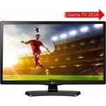 Televizor LED LG Monitor TV 24MT48DF-PZ 60cm negru HD Ready