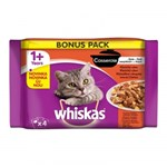 Whiskas Multipack Casserole Selectii Clasice 4x85 g