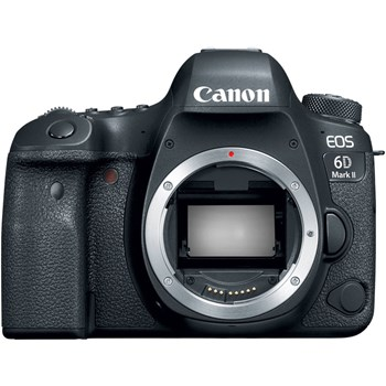 Aparat foto DSLR Canon EOS 6D Mark II, 26.2 MP, Body, Negru