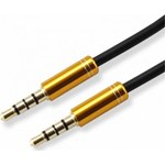 Cablu audio SBOX 3.5mm-3.5 mm - 1.5 m gold ; Connectors: Metal with gold plated plug - CAB0106