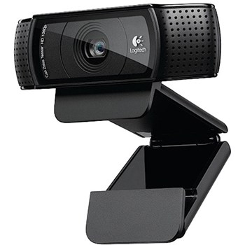 Webcam Logitech HD Pro C920 Refresh, Fulll HD, Negru