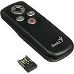 Presenter Media Pointer 100 Genius, 2.4GHz 10m USB Negru 31090015100