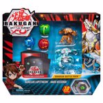 Figurine / Set 5 Bakugan Battle Planet, Aurelus Lupitheon, Haos Vicerox, 20115152