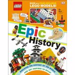 Lego Epic History: Includes Four Exclusive Lego Mini Models [With Toy], Hardcover