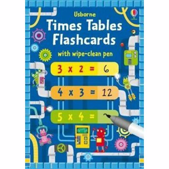 Times Tables Flash Cards, Paperback