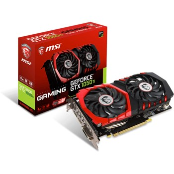 Placa video MSI GeForce GTX 1050Ti Gaming 4GB GDDR5 128bit