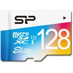 Card de Memorie Silicon Power Elite MicroSDXC 128GB UHS-1 75MBs + Adaptor SP128GBSTXBU1V20SP
