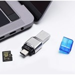 Card Reader Kingston MobileLite Duo 3C FCR-ML3C, USB 3.1 (Argintiu)