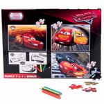 Puzzle 3 in 1, Cars