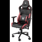 Scaun gaming Serioux Theon Negru/Burgundy