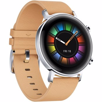 Smartwatch Huawei Watch GT 2 42mm DIANA-B19V bratara piele gravel beige