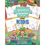 The Animal Drawing Book for Kids: How to Draw 365 Animals, Step by Step (Woo! Jr. Kids Activities Books), Paperback