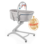 Cosulet multifunctional 4 in 1 Chicco Baby Hug, Glacial, 0luni+