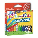 Creioane cerate, 12 culori/set, PIGNA ColourKids