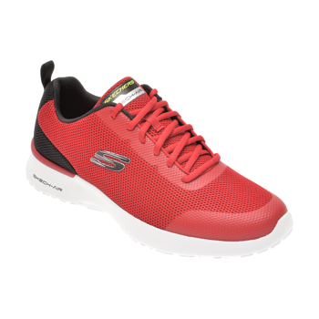 Pantofi sport SKECHERS rosii, SKECH-AIR DYNAMIGHT WINLY, din material textil