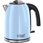 Fierbator Russell Hobbs Colours Plus Heavenly Blue 20417-70, 2400W, 1.7L, Albastru