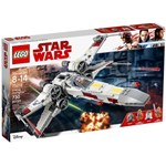 LEGO 75218 Star Wars X-Wing Starfighter with Luke Skywalker, Biggs Darklighter, R2-D2 and R2-Q2 Robot Droids, Rebels Set