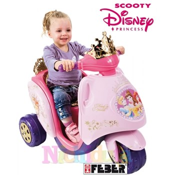 Trimotocicleta Scooty Disney Princess - Feber