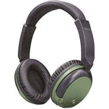 Casti Trust Kodo Bluetooth Wireless Olive