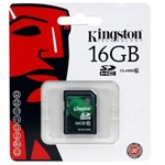Card de memorie Kingston SDHC 16GB, Class 10