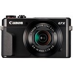 Aparat foto digital Canon PowerShot G7 X Mark II, 20.1MP, Black
