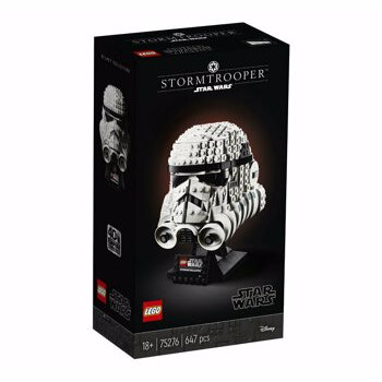 LEGO 75276 Star Wars Stormtrooper Helmet Display Building Set, Advanced Collectible Gift Model for Adults