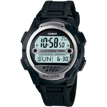 Ceas barbtesc Casio Sports W-756-1A Digital Curea Cauciuc w-756-1a