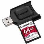 Card reader Kingston React PLUS + SD Reader 64GB