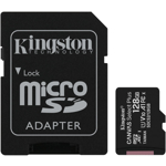 Card de memorie Kingston Canvas Select Plus 100R A1 128GB SDXC Clasa 10 + Adaptor SD