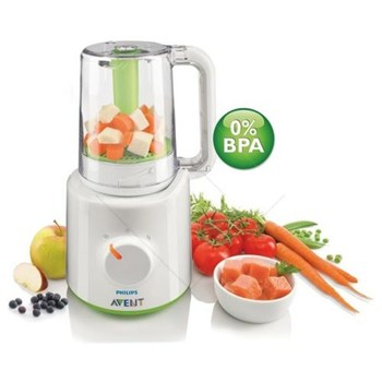 Aparat de gatit 2 in 1 PHILIPS AVENT SCF870/22, 200ml, 400W, alb - verde