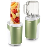 Blender Trisa Power Smoothie 6930.24, Cutit cu 4 lame, 21.000 rpm (Verde)