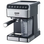 Espressor manual Zass ZEM10, 1350 W, 1.8 L, 16 bar, Argintiu