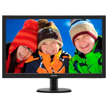 "Monitor LED PHILIPS 273V5LHSB/00, 27"", Full HD, negru"