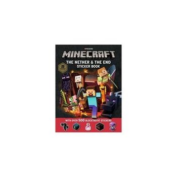 Minecraft The Nether and the End Sticker Book, editura Egmont Uk Ltd
