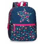 Rucsac Movom Nice Flowers, 2 compartimente, 45x32x15 cm