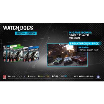 Watch Dogs D1 Edition WII U
