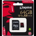 Card de memorie Kingston SDCR/64GB, 64GB, Clasa 10 + Adaptor