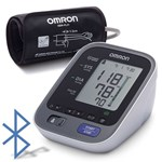 Tensiometru electronic de brat Omron M7 Intelli IT, Bluetooth, 0-299mmHg, 40-180 bp, Alb + adaptor