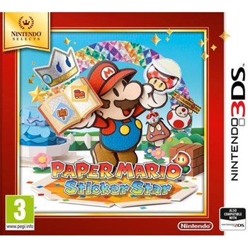 PAPER MARIO STICKER STAR SELECTS 3DS ntn6040017